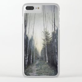 The path Clear iPhone Case