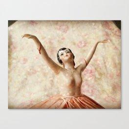 Dance in Sparkles Canvas Print
