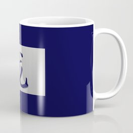 Chinese zodiac sign Dragon blue Coffee Mug