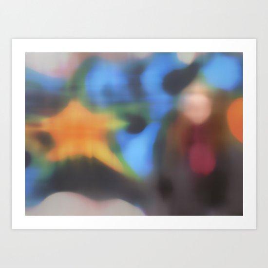 Tracker (study) Art Print