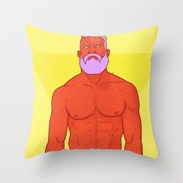 Speedo Throw Pillow