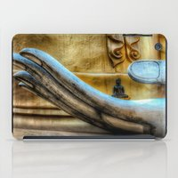 meditation iPad Cases featuring Meditation  by Adrian Evans