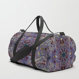 Skulls Purple Rouge Duffle Bag