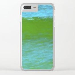 Ocean Wave Composite Clear iPhone Case