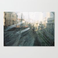 vienna Canvas Prints featuring Vienna by Ay Karamela!