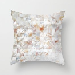Mother of Pearl #society6 #decor #buyart Throw Pillow