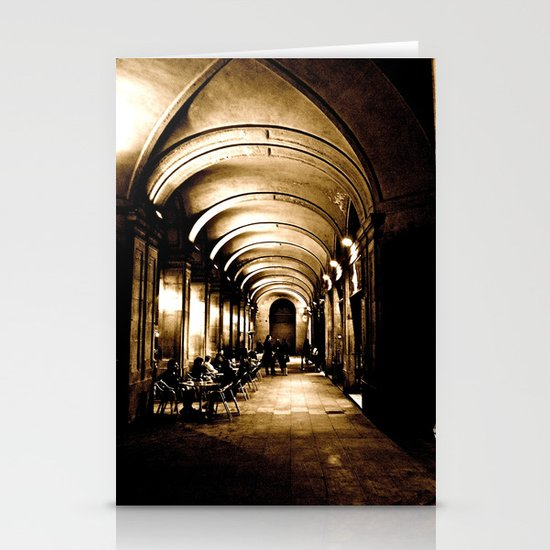 Outside Hallway Stationery Cards