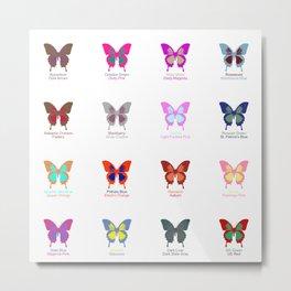 Butterflies 16 Metal Print