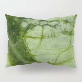Green Marble Pillow Sham