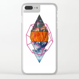 Little Cage of Space Clear iPhone Case