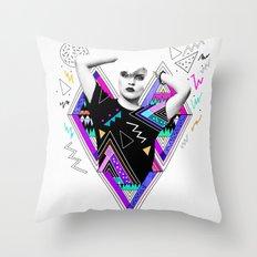 Heart Of Glass - Kris Tate x Ruben Ireland Throw Pillow