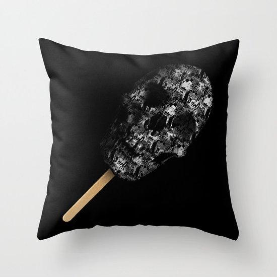 Skull Pop Throw Pillow