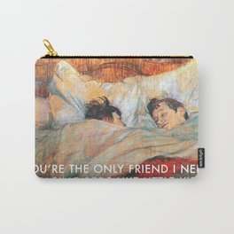 Sharing Beds Carry-All Pouch
