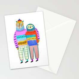 Friends by Ashley Percival. Stationery Cards