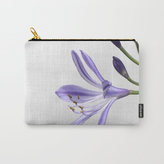 purple lily Carry-All Pouch