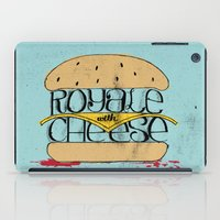 pulp iPad Cases featuring Pulp Fiction by Drew Wallace