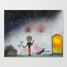 """""""The Cuben"""" Canvas Print"""