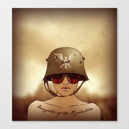 Daughter of the Revolution Canvas Print