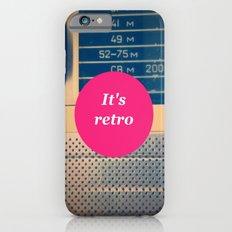 It's retro! Slim Case iPhone 6s