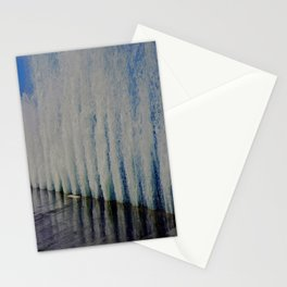 Lake Michigan Natural Fountains #4 (Chicago Waves Collection) Stationery Cards