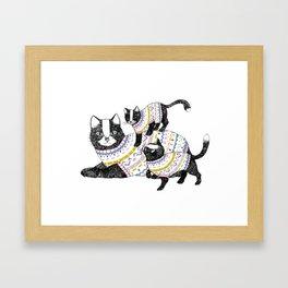 Kittens. Framed Art Print