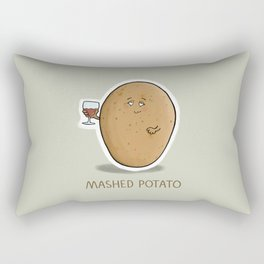 Mashed Potato Rectangular Pillow