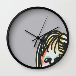 Weird Family Wall Clock