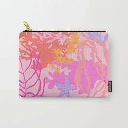 Coral Reef in Pink Carry-All Pouch