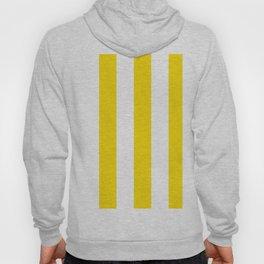 Classic Cabana Stripe in Lemon Yellow + White Hoody