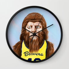 Teenwolf Wall Clock