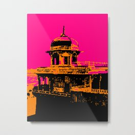 Agra Fort, The Jasmine Tower Metal Print