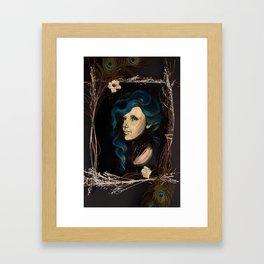 True Blue II Framed Art Print