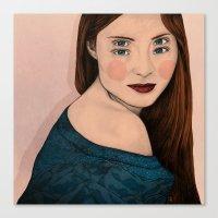 iris Canvas Prints featuring Iris by Sofia Azevedo