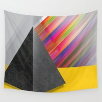 pyramid Wall Tapestries featuring Pyramid by ohzemesmo