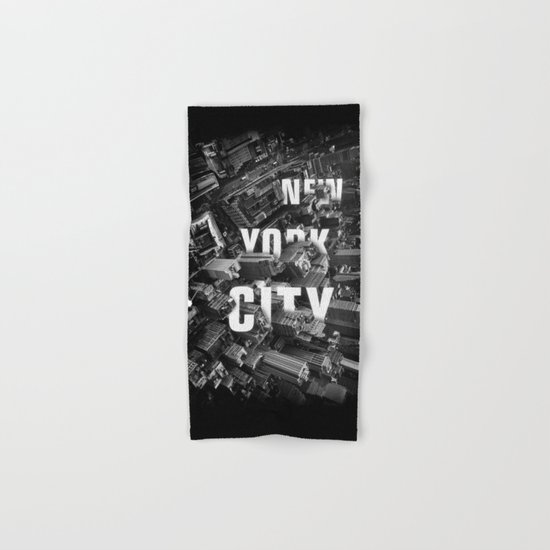 New York City streets Hand & Bath Towel