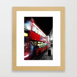 double decker Framed Art Print
