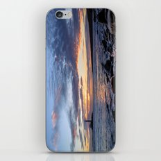 Sunrise at St Mary's Lighthouse iPhone & iPod Skin