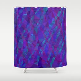 Jewel Tone Sparkles Shower Curtain