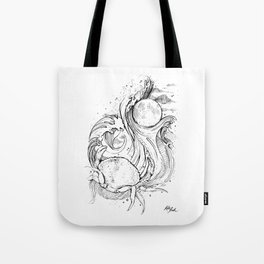 Zodiac: Cancer Tote Bag