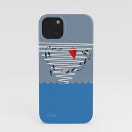 Kite Dancing in a Hurricane  iPhone Case