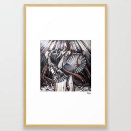 Pressure Drop Framed Art Print