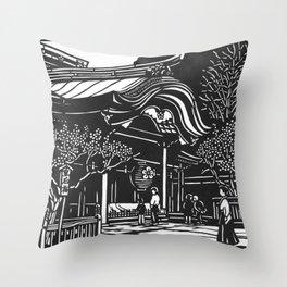 Dazaifu Tenmangu Throw Pillow
