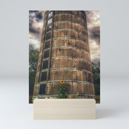 Old silo Mini Art Print