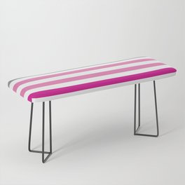 Stripes Gradient - Pink Bench