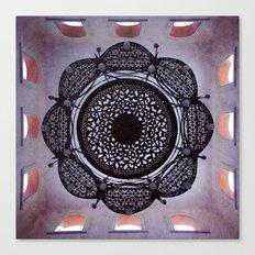 Lace magic Canvas Print