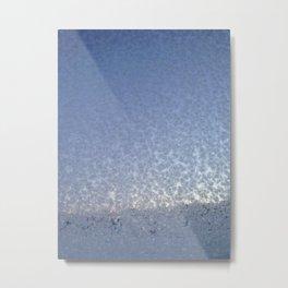Frostflower Metal Print
