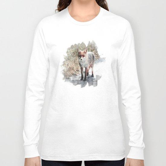 How I met a Fox Long Sleeve T-shirt