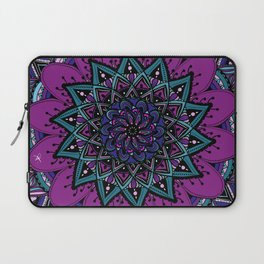 Mandala purple By Sonia H. Laptop Sleeve