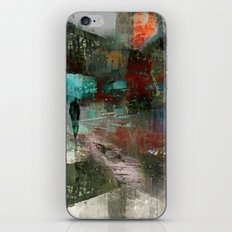 A city without you iPhone & iPod Skin
