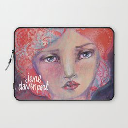 Folie by Jane Davenport ( with logo) Laptop Sleeve